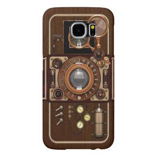 Vintage Steampunk TLR Camera Samsung Galaxy S6 Cases