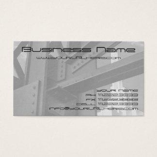 Vintage Steel Construction Skyscraper Architecture Business Card