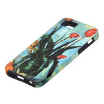 Vintage Still Life, Tulips in a Vase by Cezanne iPhone 5 Case