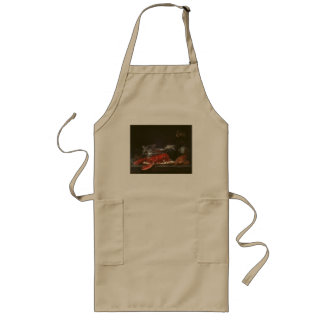 Vintage Still Life With Lobster by  Anne Vallayer Long Apron