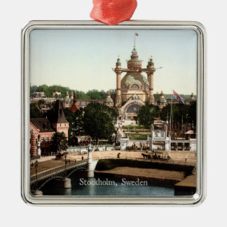 Vintage - Stockholm, Sweden Christmas Ornament
