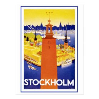 Vintage Stockholm Sweden Post Card