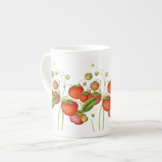 Vintage Strawberries China Cup