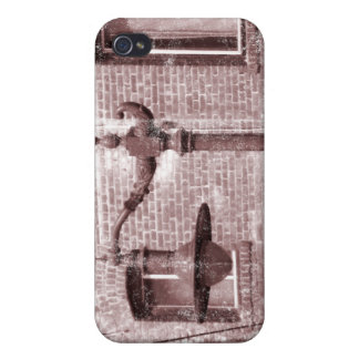 Vintage Street Lamp iPhone 4 Covers