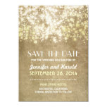 vintage string lights save the date cards personalised invitations