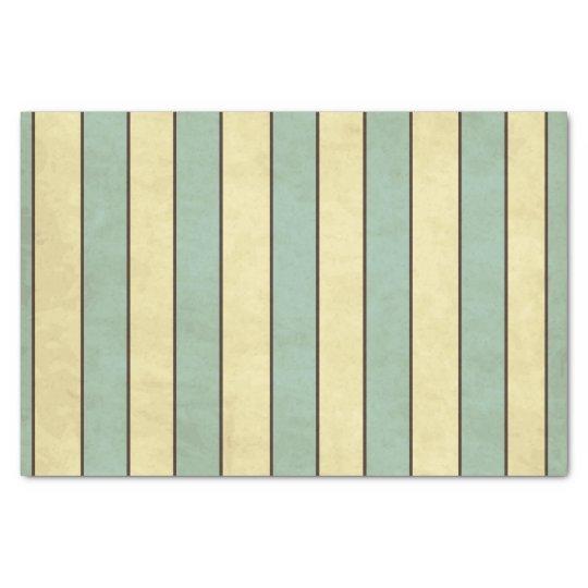 Vintage stripes pattern tissue paper