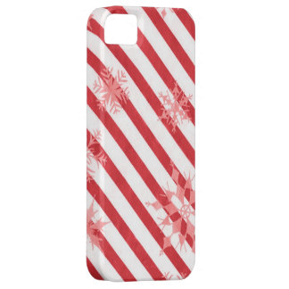 Vintage Stripes & Snowflakes Case For The iPhone 5