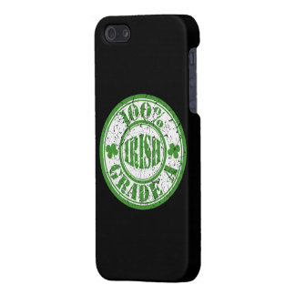 Vintage Style 100% IRISH STAMP iPhone 5 Cases
