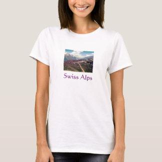 Vintage style Alpine View -- Swiss Alps T-Shirt