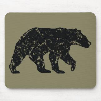 Vintage-style Bear Mousepad