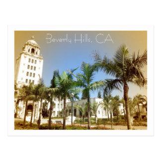 Vintage Style Beverly Hills Postcard! Postcard