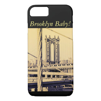 vintage style, Brooklyn Bridge iPhone 8/7 Case