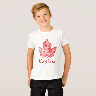 Vintage Style Canada Maple Leaf Kids Shirt