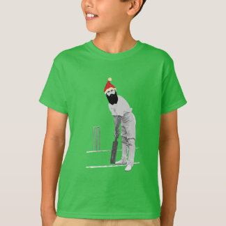 Vintage style cricketing christmas gifts T-Shirt