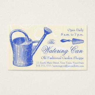 Vintage Style Florist or Garden Shop, Gardening Business Card