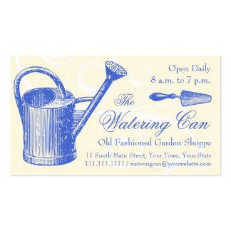 Vintage Style Florist or Garden Shop, Gardening Pack Of Standard Business Cards