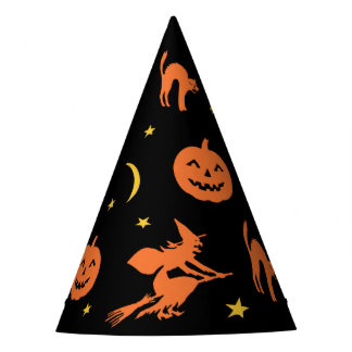 Vintage Style Halloween Party Hat