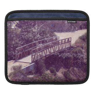 Vintage Style Hogback Trail Bridge iPad Sleeves