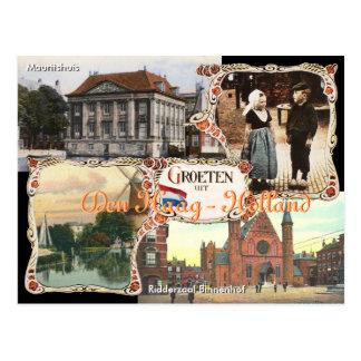 Vintage style Holland Postcard Den Haag