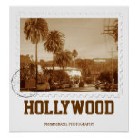 Vintage Style Hollywood Poster!