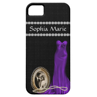 Vintage Style Iphone 5 BLING PHONE COVER