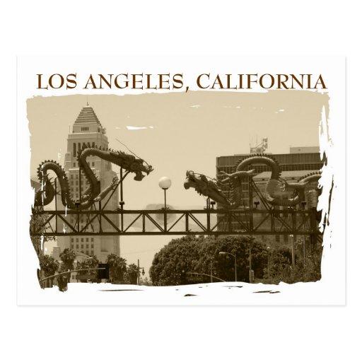 Vintage Style Los Angeles Postcard!