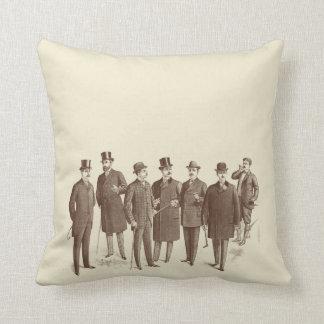 Vintage Style Masculine Sofa Mens Fashion Quirky Cushion