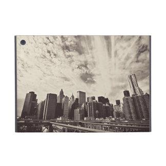Vintage Style New York City Skyline Covers For iPad Mini