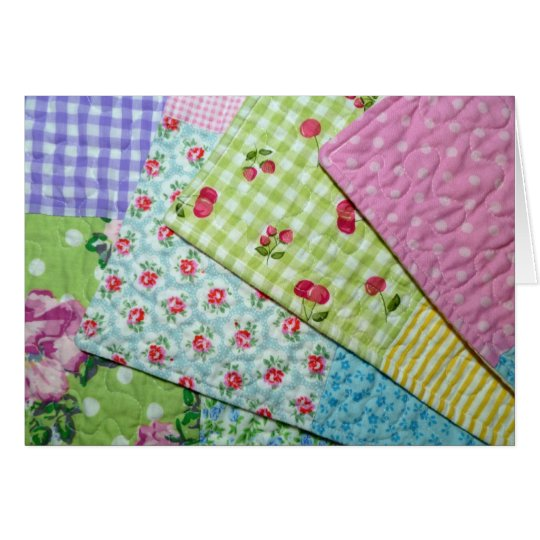 Vintage Style Placemats Greeting Card