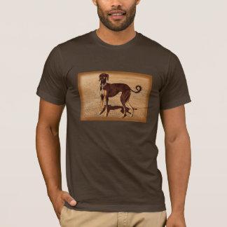 Vintage Style Saluki T-Shirt