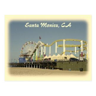 Vintage Style Santa Monica Postcard!