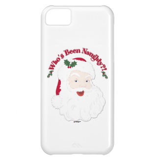 Vintage Style Santa Who's Been Naughty?! iPhone 5C Case