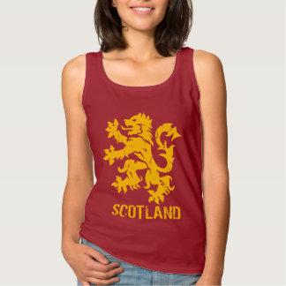 Vintage Style Scotland Rampant Lion Tank Top