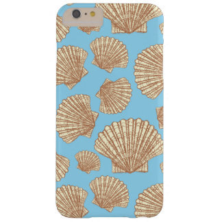 Vintage Style Seashell Pattern Barely There iPhone 6 Plus Case