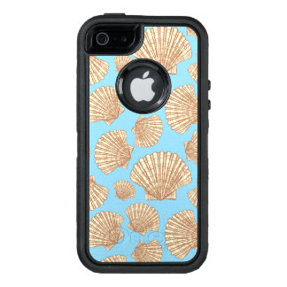 Vintage Style Seashell Pattern OtterBox Defender iPhone Case