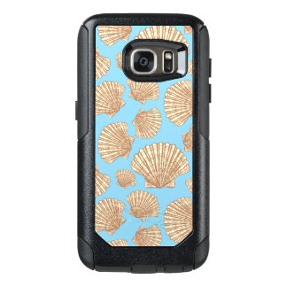 Vintage Style Seashell Pattern OtterBox Samsung Galaxy S7 Case