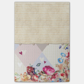 Vintage Style Stationary Post-it Notes