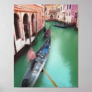 Vintage Style Venice Poster