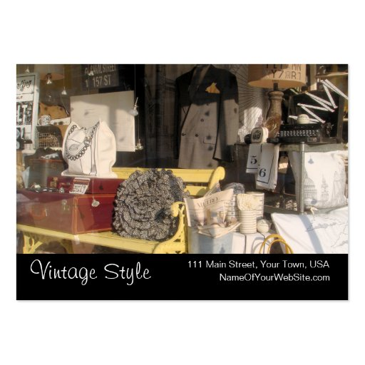 Collections of furniture business cards page3 vintage style vintage goods custom business cards reheart Images