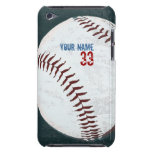 Vintage styled baseball ball case iPod touch cover
