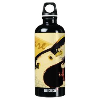 vintage styled skateboarding SIGG traveller 0.6L water bottle