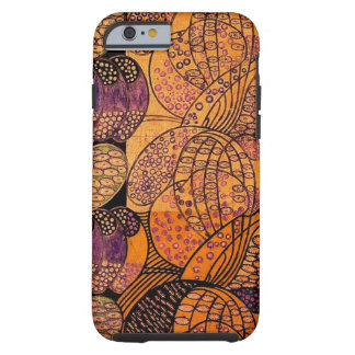 Vintage Stylised Daisies Tough iPhone 6 Case