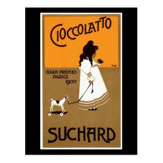 Vintage Suchard Cioccolatto Postcard