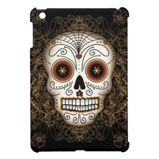 Vintage Sugar Skull iPad Mini Case