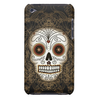 Vintage Sugar Skull iPod Touch Case