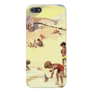 Vintage Summer Holiday at the Beach Case For The iPhone 5