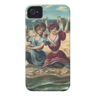 Vintage Sun Bather Beach Babes Case-Mate Case Blackberry Bold Cover
