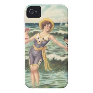 Vintage Sun Bather Beach Babes Case-Mate Case Blackberry Bold Cases