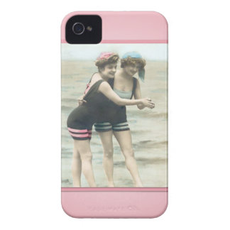Vintage Sun Bather Beach Babes Case-Mate Case iPhone 4 Cover