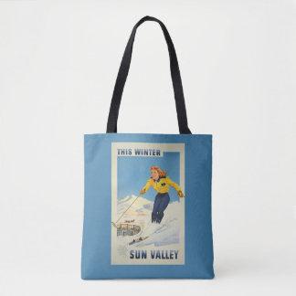 Vintage Sun Valley Idaho USA bags